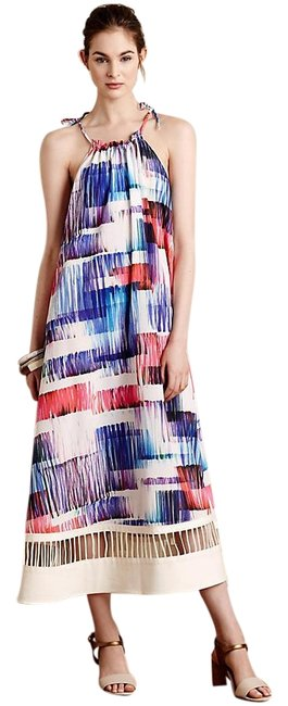 Item - Multicolor Sonora By Sachin and Babi Sonora Long Cocktail Dress Size 4 (S)