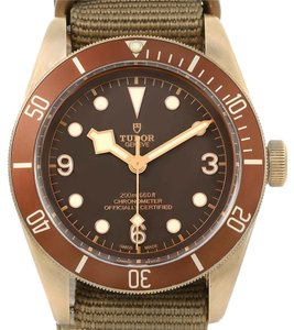 Tudor Tudor Heritage Automatic Bronze Dial Mens Watch 79250 Box Papers
