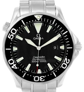 Omega Omega Seamaster Professional 300m Black Dial Steel Watch 2264.50.00