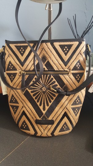 Lucky Brand Embroidered Aztec Cross Body Bag
