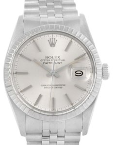 Rolex Rolex Datejust Steel Silver Dial Automatic Vintage Mens Watch 16030