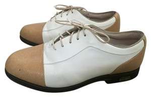 FootJoy White Golf Tan and Ivory Athletic