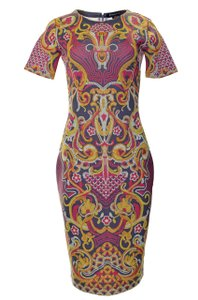 Anthropologie Pencil Polyester Slim Spandex Dress