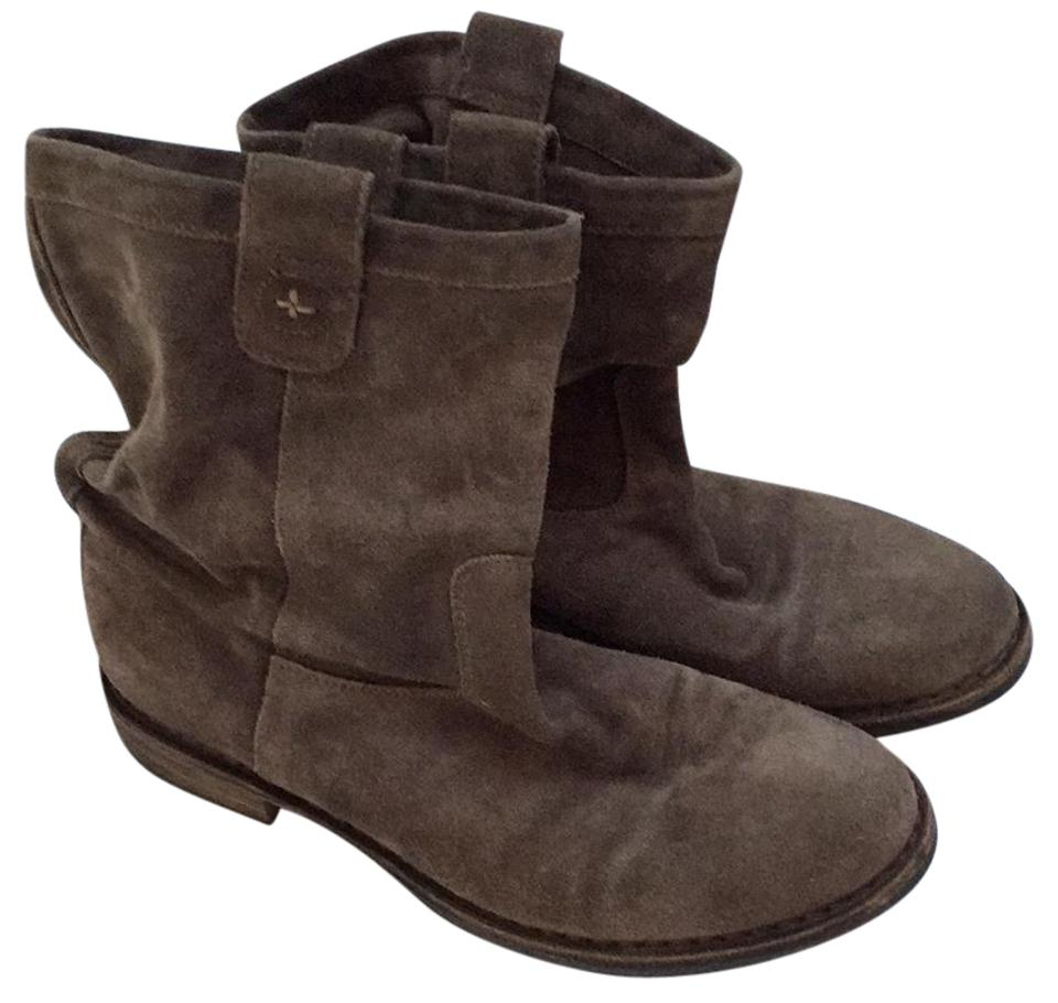 Fiorentini Baker + Baker Fiorentini Taupe Brown Slouch Boots/Booties c8ee5c