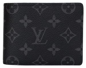 Louis Vuitton Louis Vuitton Monogram Eclipse Multiple Wallet w/BOX/DB