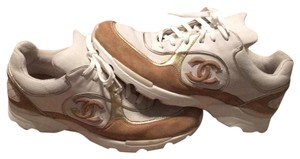 Chanel Ivory/Gold. Athletic