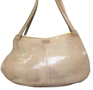 Hobo International Hobo Snakeskin Gold Tan Shoulder Bag