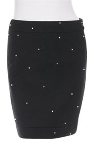 Chanel Designer Runway Mini Skirt Black