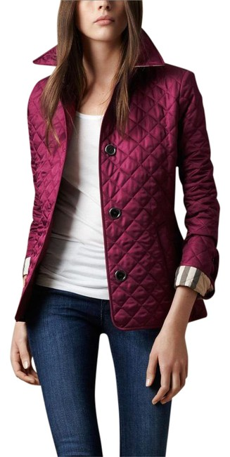 Item - Purple Brit Copford Quilted Jacket Size 2 (XS)
