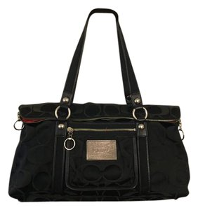 Coach Signature Satchel in Black