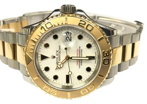 Rolex rolex yacht master men's watch stainless steel and gold watch