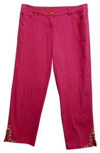Ruby Rd. Capris Pink