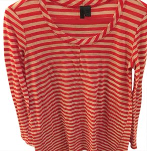 Urban Outfitters Top white and red stripes