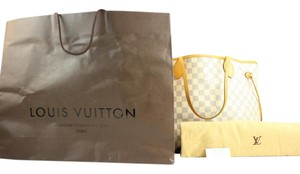 Louis Vuitton Neverfull Azur Neverfull Gm Artsy Tote in Damier Azur