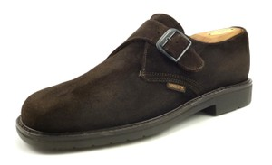 Mephisto Mephisto Mens Shoes Suede Monk Strap Loafers