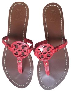 Tory Burch melon red Sandals