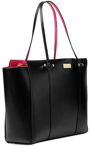 Kate Spade Tote in black/ sweetheart pink