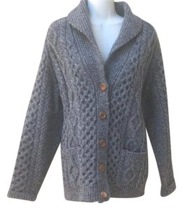 inverallan Scotland Fisherman Shawl Cardigan Sweater