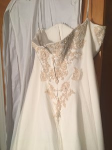 David's Bridal Ivory Ivory Wedding Dress Dress