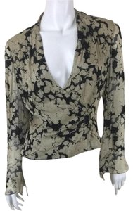 Carmen Marc Valvo Beaded Designer Top