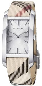 Burberry Burberry The Pioneer Unisex Nova Check Plaid Leather Watch BU9403