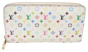 Louis Vuitton Louis Vuitton Signature Multi-color White Insolite Long Murakami