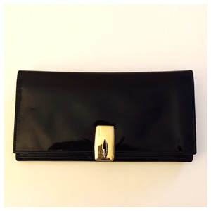 Gucci Black and Gold Clutch