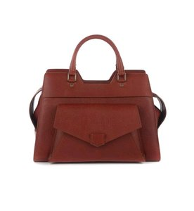 Proenza Schouler Proenza Leather Satchel in Red
