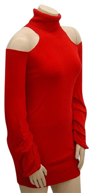 Preload https://img-static.tradesy.com/item/20734067/dkny-red-tpw9s-cold-shoulder-short-cocktail-dress-size-8-m-0-1-650-650.jpg