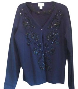 Talbots Sequin Sweater