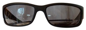 A|X Armani Exchange NWT ARMANI AX MATTE BLACK MODERN FRAMED SUNGLASSES WITH CASE