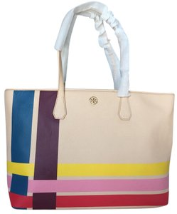 Tory Burch Black Perry Multi Neverfull Tote in Multi Color