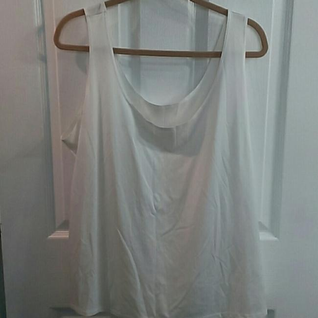 Ruby Rd. Sheer Top Peach and Beige Image 1