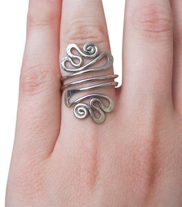 Other Bohemian Vintage FiligreeSwirl Ring