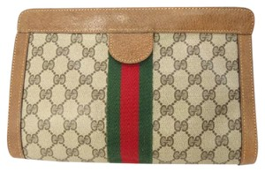 Gucci Brown multi Clutch