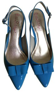 Lilly Pulitzer Blue Pumps