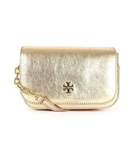 Tory Burch Caitlin Metallic Robinson Ella Cross Body Bag
