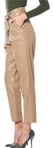 Gracia Straight Pants Beige