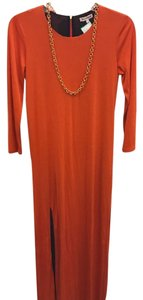Orange Maxi Dress by Juicy Couture Jersey Maxi