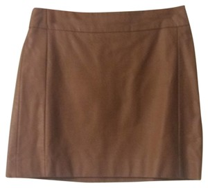 The Limited Mini Skirt tan brown