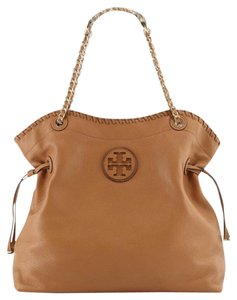 Tory Burch Tote in luggage/ bark/ tan