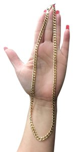 Independent Clothing Co. cuban link 12k solid gold
