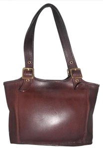 Coach Leather Medium Usa Made Tote in Brown