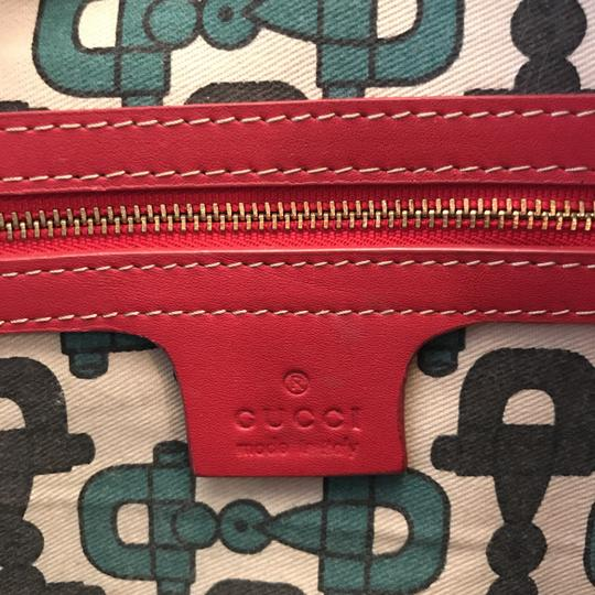 Gucci Satchel in Red Image 5