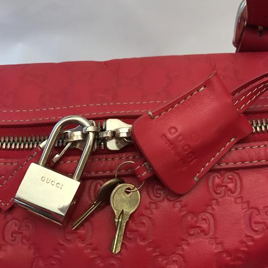 Gucci Satchel in Red Image 9
