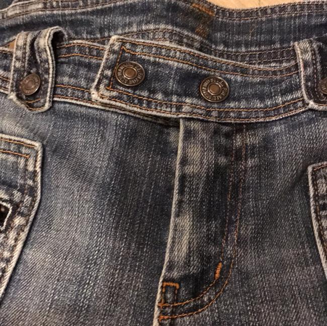 7 For All Mankind Flare Leg Jeans-Distressed Image 1