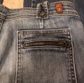 7 For All Mankind Flare Leg Jeans-Distressed Image 3