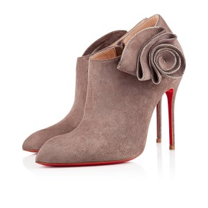 Christian Louboutin Ankle Marychal Pony Grey Boots