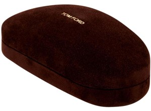 Tom Ford Tom Ford Sunglasses Case, Brown ~NEW