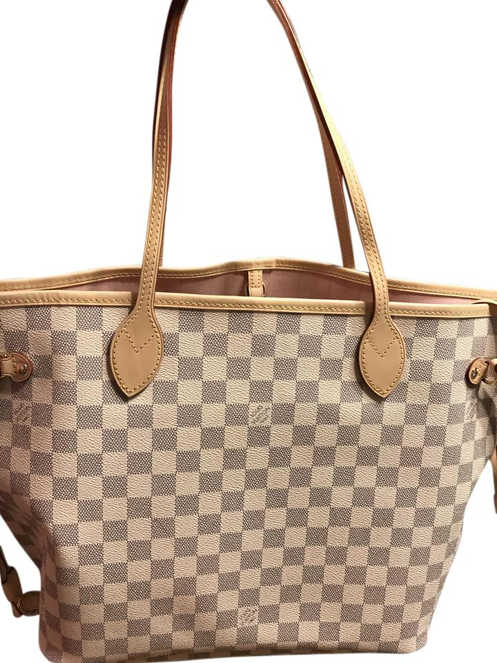 9a66ae008323 Louis Vuitton Neverfull Reserved For Wengzki N41605 Damier Azur Tote ...